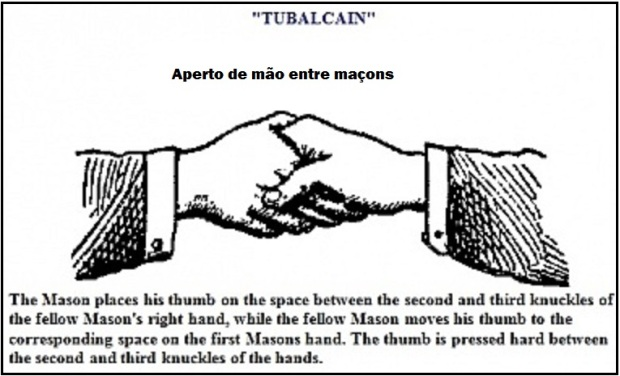 Pass grip of a master mason