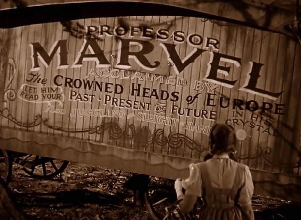 002 - El Mago de Oz - Professor Marvel0000