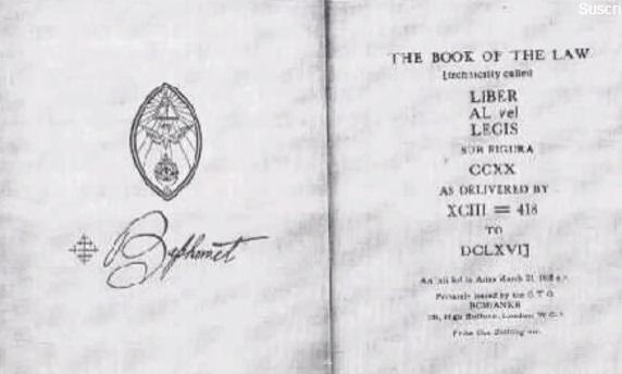 livro da lei satanismo