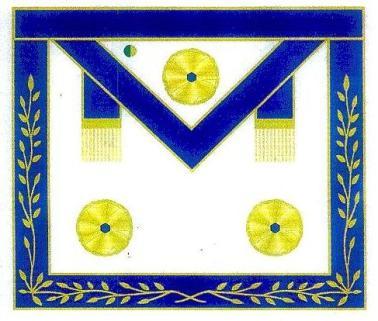 Avental de Mestre Macom do RB