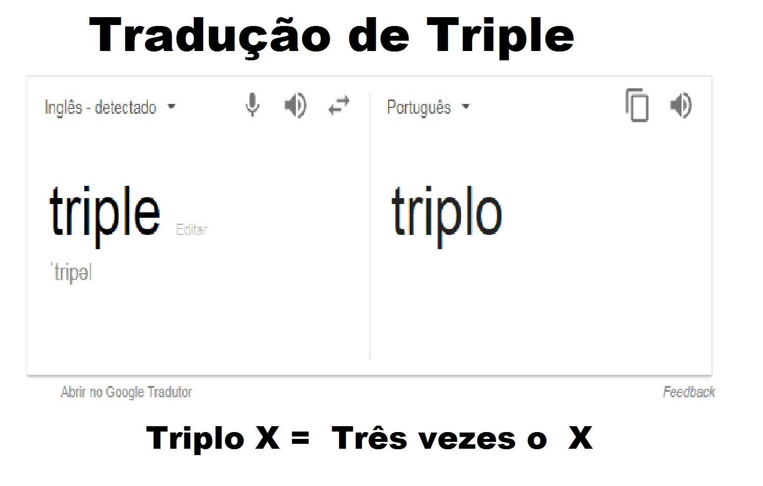triplo xvv